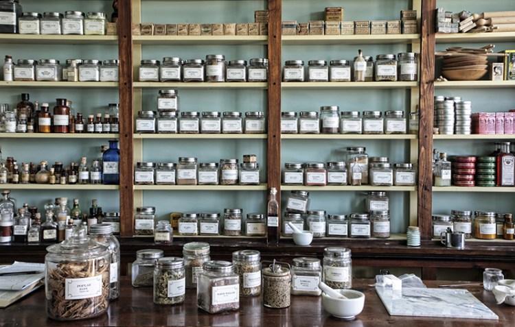 atelier des plantes apothicaire