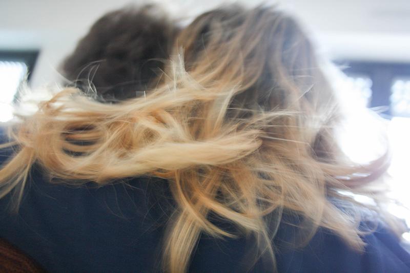 cura del sebo maschile capelli femminili