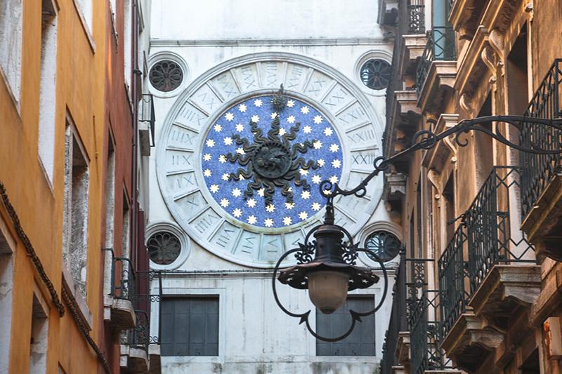 venise horloge saint marco