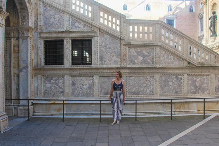 pantalon d'été palais des Doges à Venise