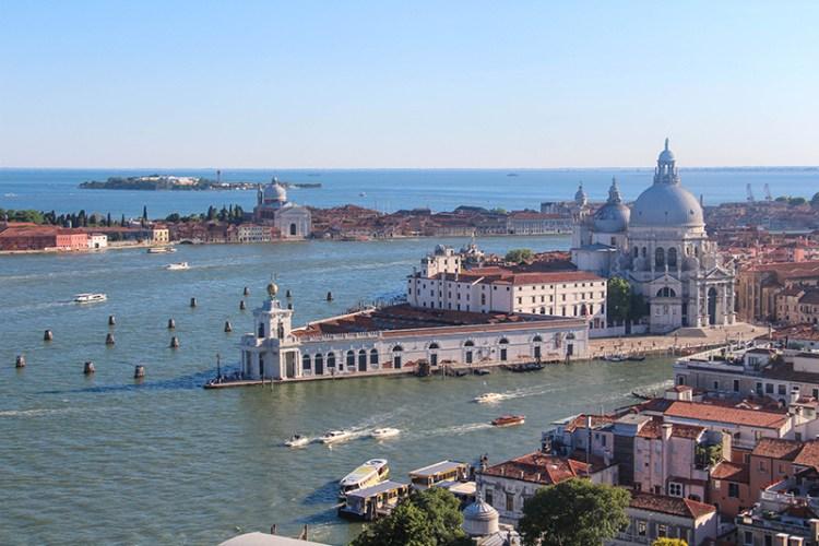 vue panoramique de Venise
