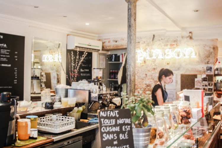 cafe pinson salon de thé vegan friendly