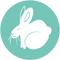 lapin vegan logo quizz de la souffrance animale