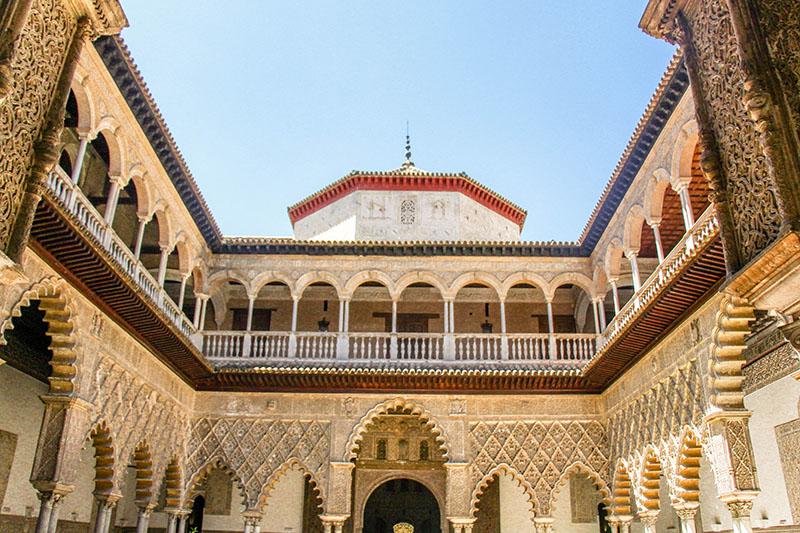 seville jardin et palais alcazar