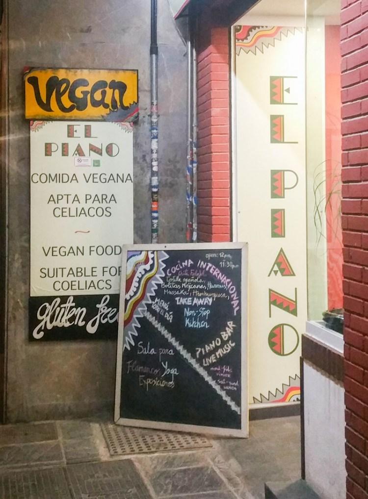 restaurant vegan grenade espagne