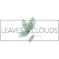 deco ethique made in france recyclee ecologique leaves and clouds