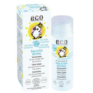 Crème solaire pour enfant et peaux sensible éthique vegan