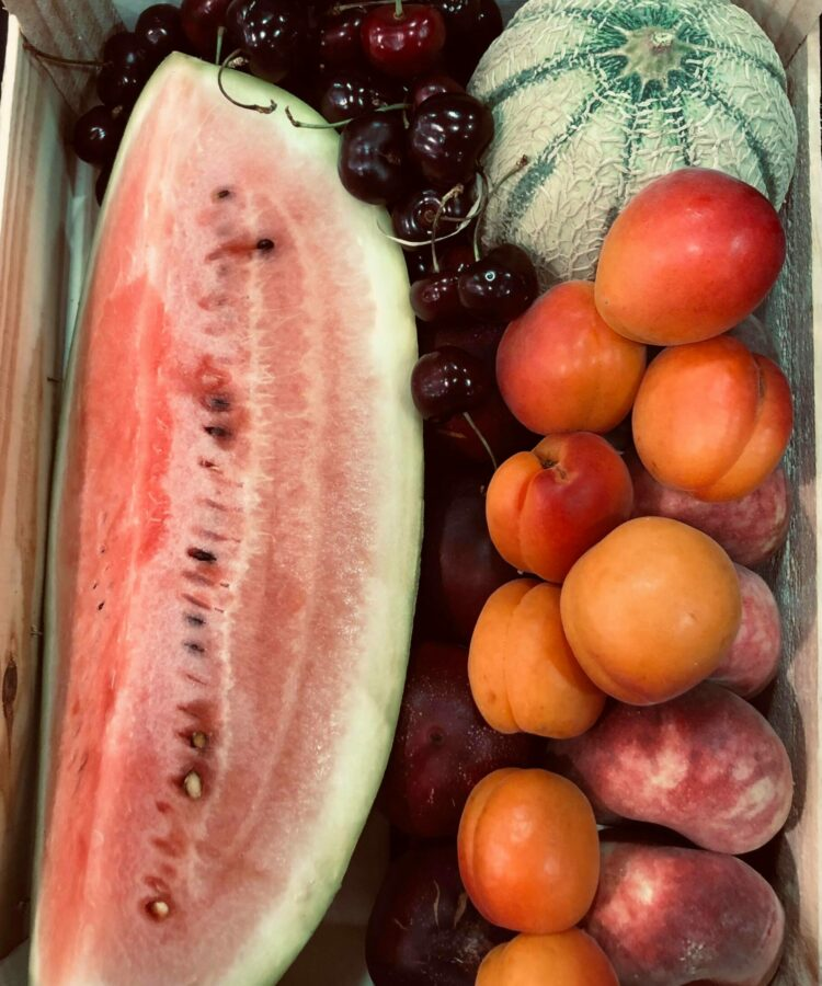 Box fruit d'été week end