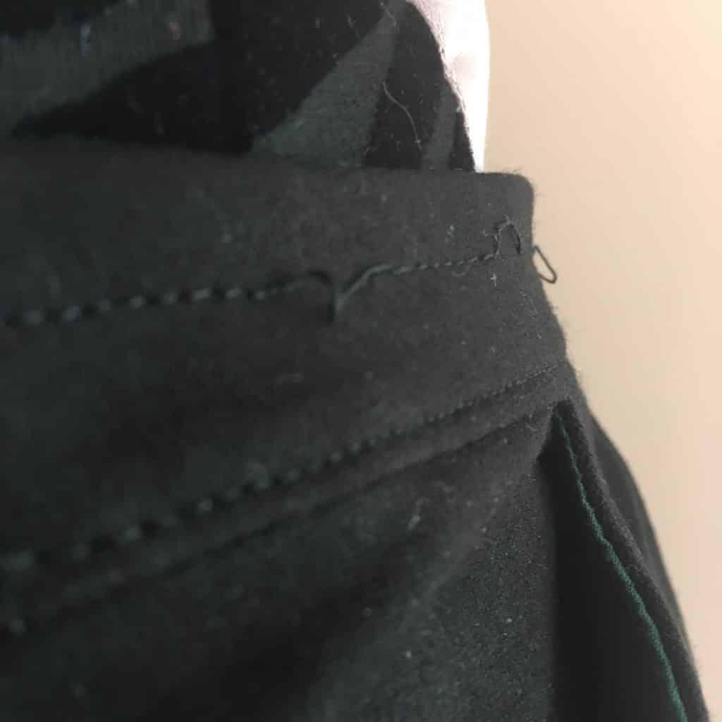 quelques ratés couture: ma jupe préférée
