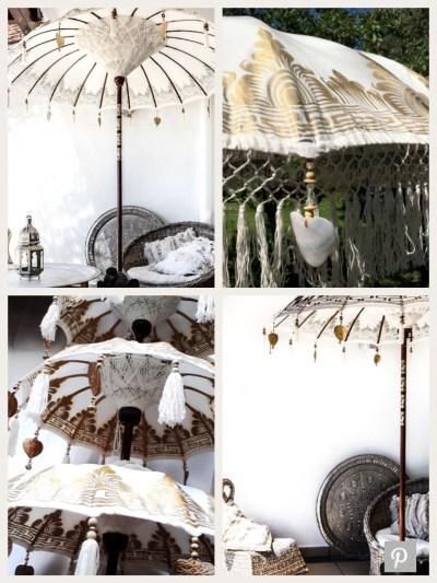 Handmade Balinese Umbrellas