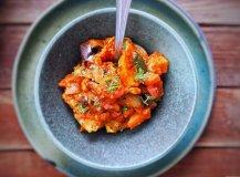 Gulasz z grillowanych warzyw