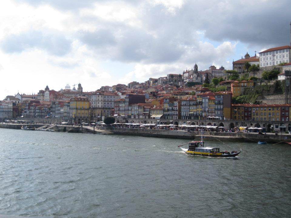 La ribera de Oporto