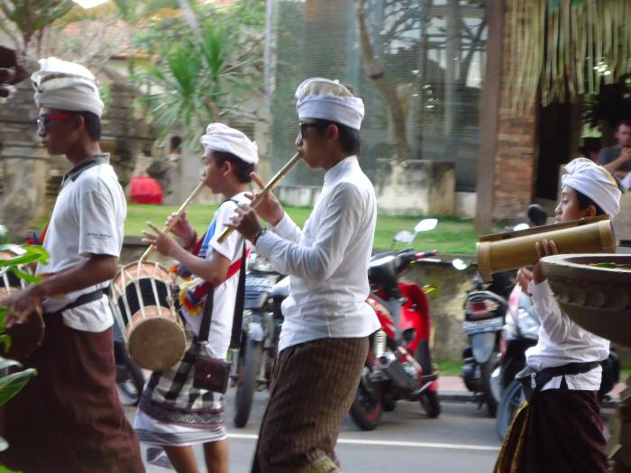 Procesión de Ubud