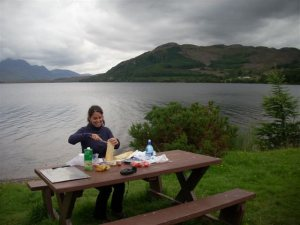 Picnic en Escocia
