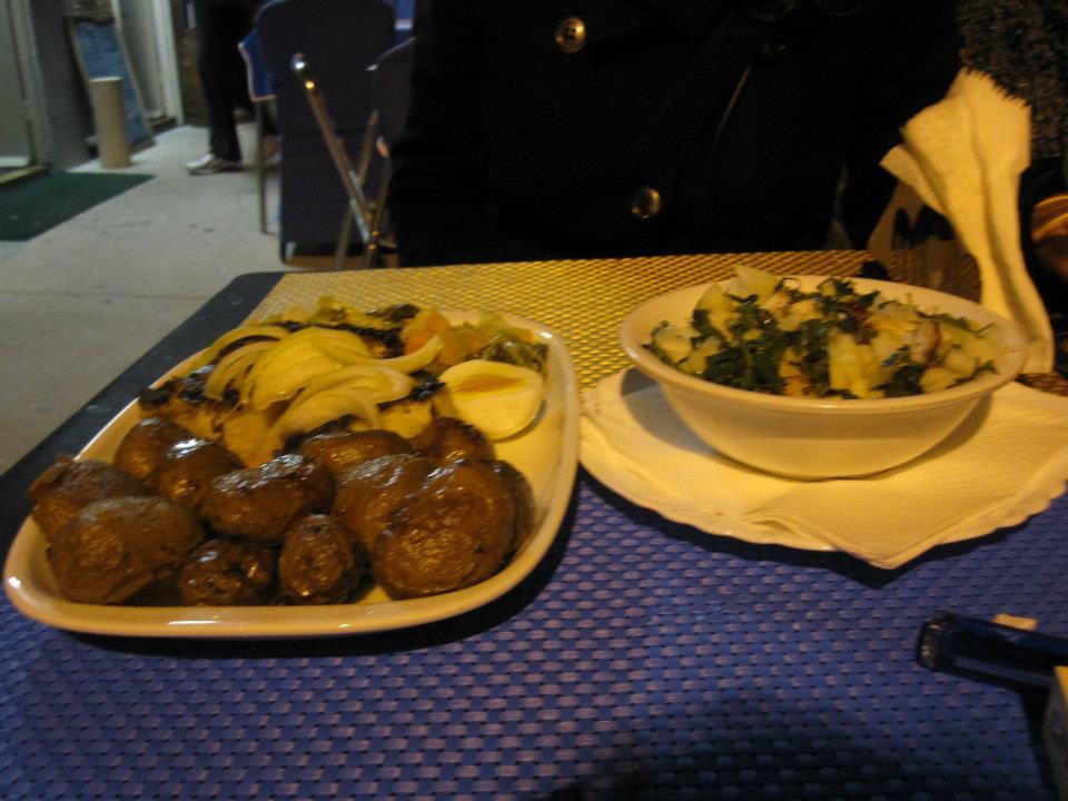 Comer en Oporto: pulpo y bacalao