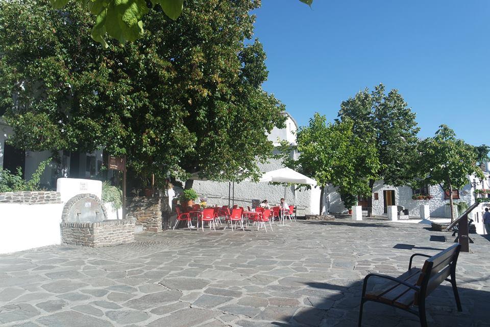 Plaza de Capileira