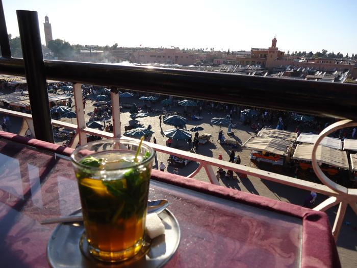 Té en Marrakech