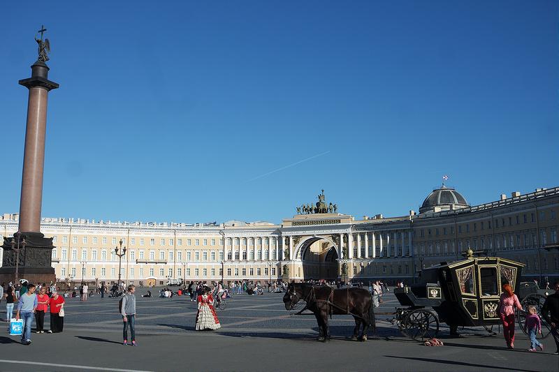 Dvortsovaya (plaza del Palacio), San Petersburgo