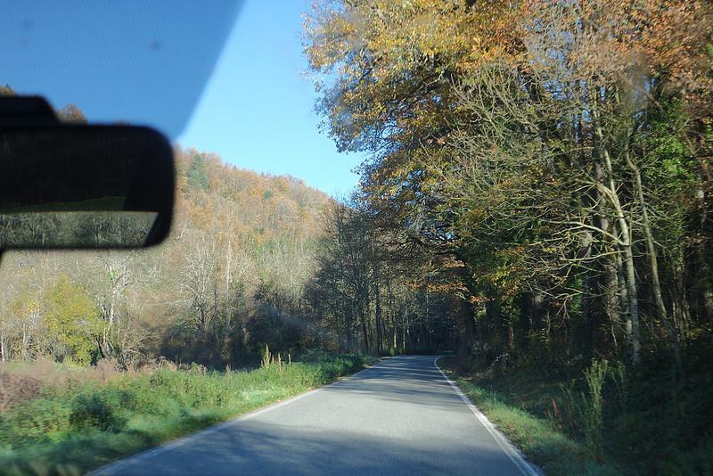 Carretera a Ochagavía, Navarra