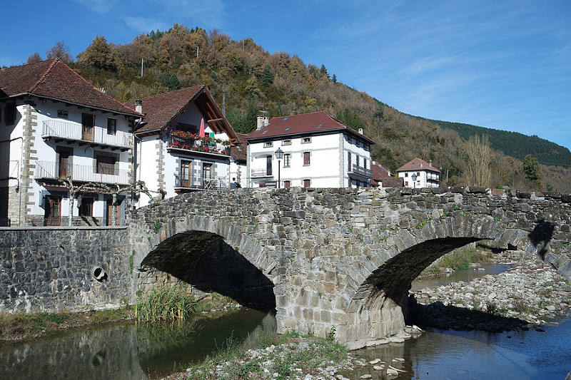 Ochagavía, Navarra, la Selva de Irati