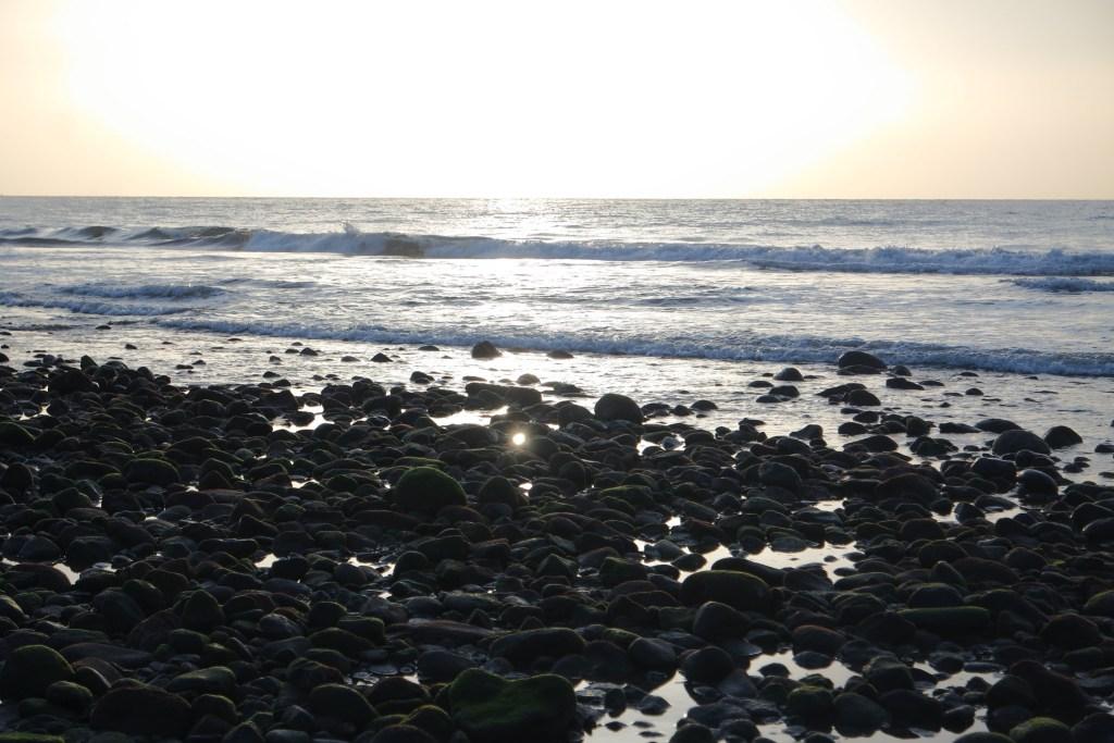 El mar de Gran Canaria