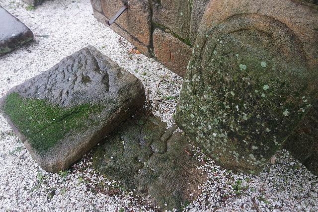 Lápidas gremiales del cementerio de Noia