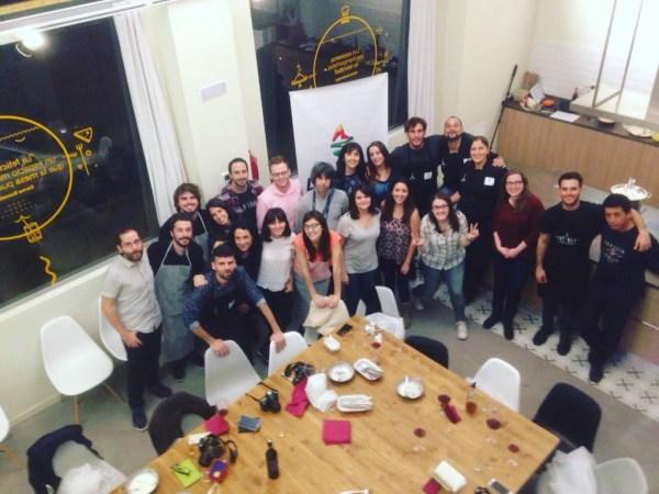 BLoguers en el Showcooking La Palma con Sabor