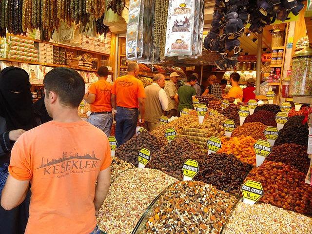 Mercado Egipcio Estambul