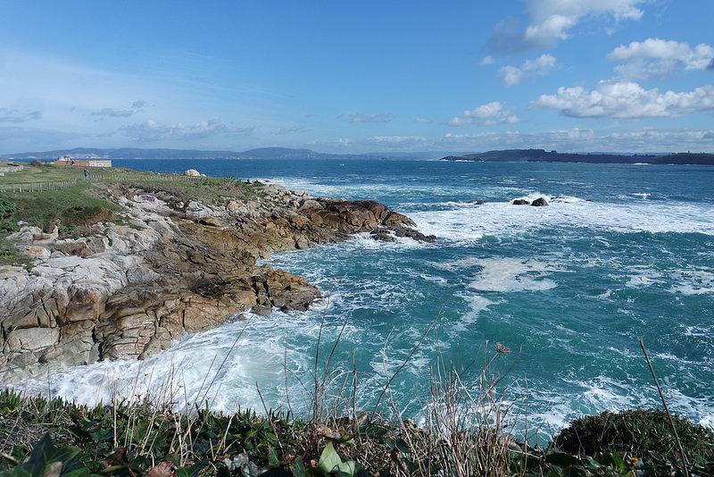 Océano Atlántico, A Coruña