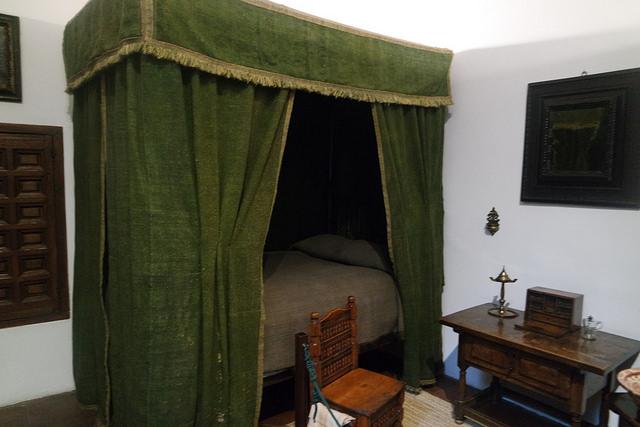 Dormitorio de Antonia Clara, Casa Museo Lope de Vega