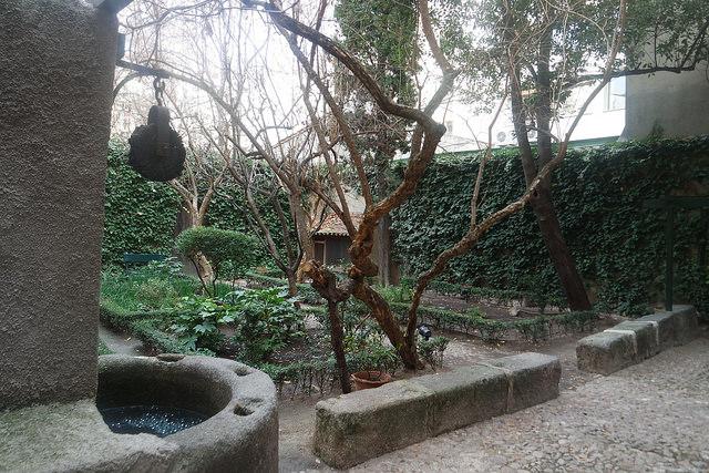 Jardín de la Casa Museo Lope de Vega