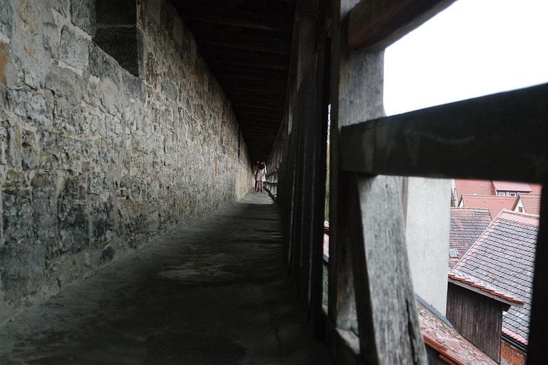 Muralla cubierta de Rotemburgo