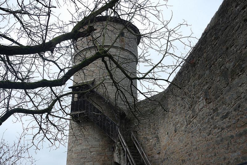 Torre de la muralla de Rotemburgo, Baviera