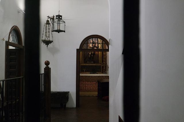 Ventana del dormitorio de Lope de Vega