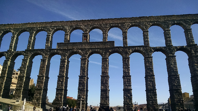 Acueducto romano,leyendas de Segovia