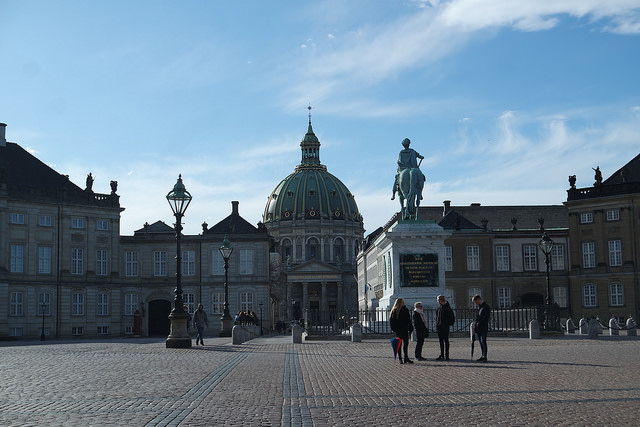 Amalienborg y Frederiks kirke