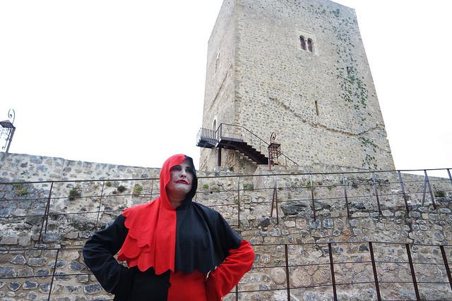 Un bufón en el castillo de Alcaudete