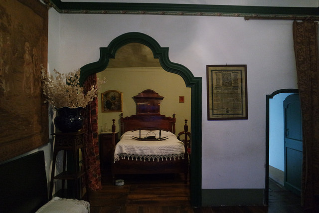 Habitación del barón, Casa d´Areny - Pladolit
