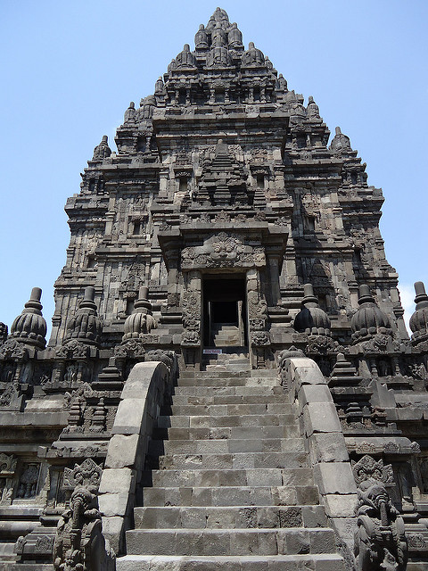 Templo de Prambanan, Java, Indonesia