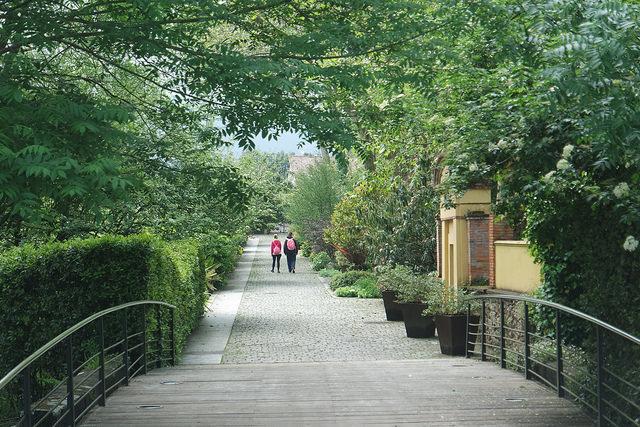 Acceso al Jardín Botánico