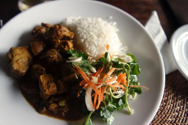 Atún al curry