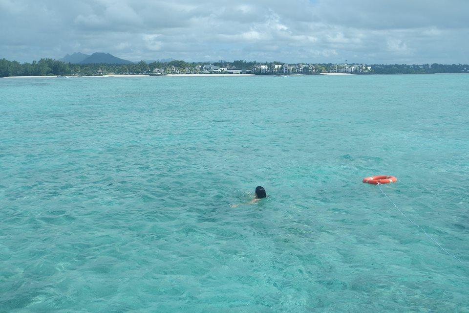 Baño en Mauricio