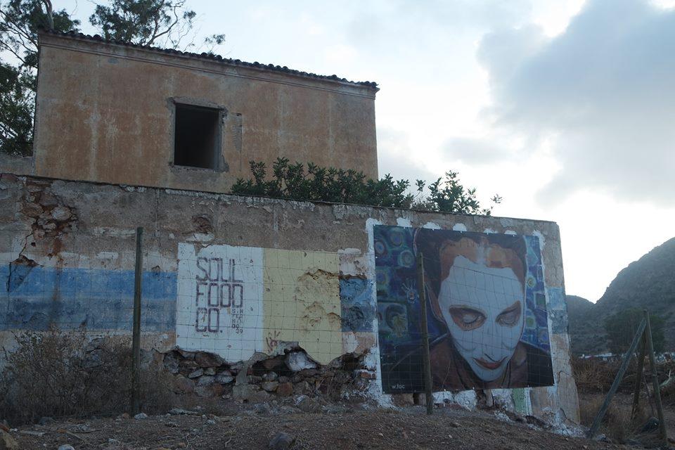 Casas del pueblo minero de Rodalquilarte