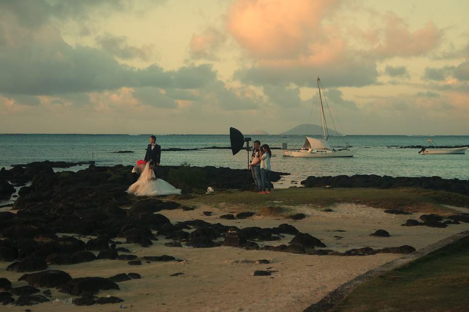 Novia en Cap Malhereux