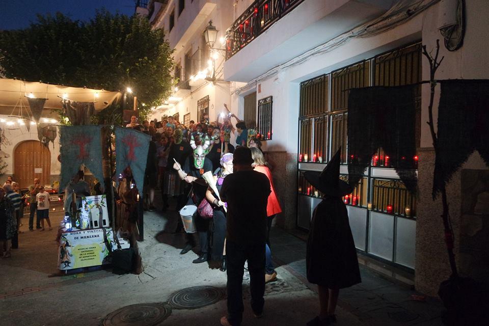 Desfile de demonios, Feria del Embrujo en Soportújar