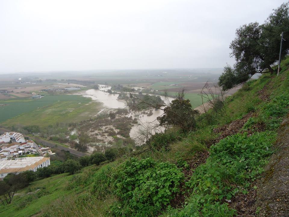 Río Guadalquivir desde el castillo de Almodóvar