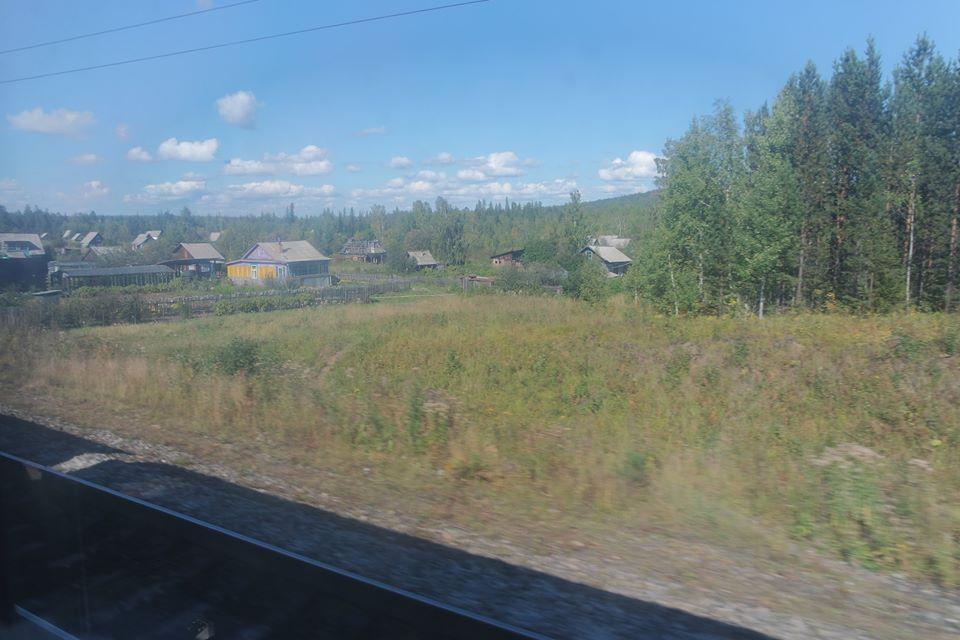Siberia desde el Transiberiano