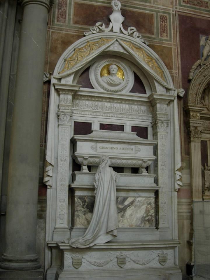 Sepulcro de Rossini, Santa Croce