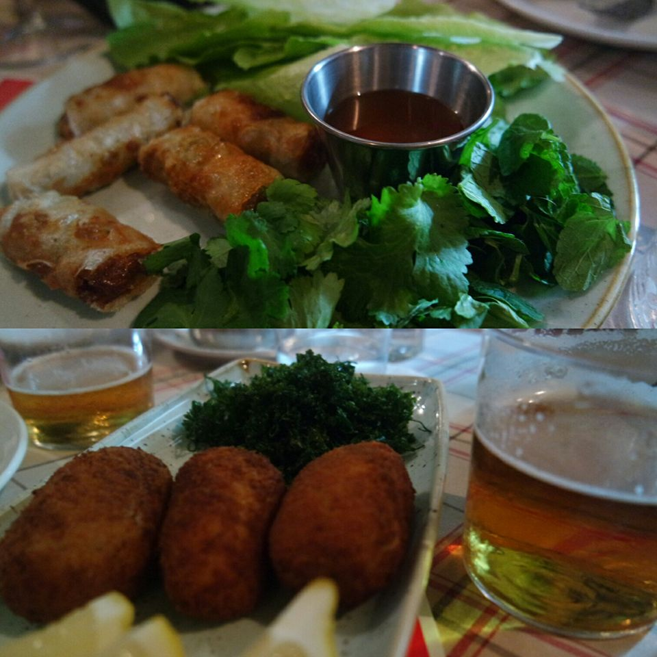 Cena en Casanis, centro histórico de Marbella