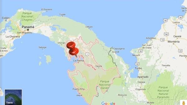 Darién, al sur de Panamá